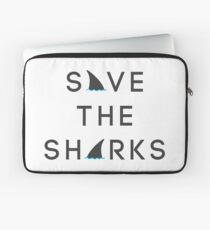 Save the Sharks Laptop Sleeve