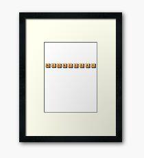 Wednesday Framed Print