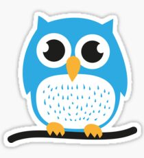 Sweet & cute owl Sticker