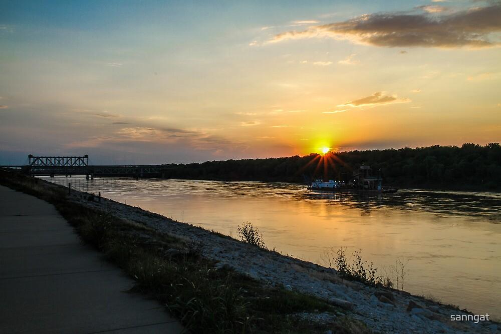 river side by sanngat