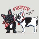 French Kiss {Type} by offleashart