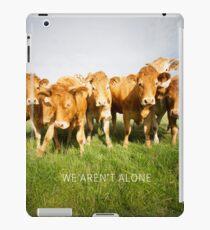 We aren't alone iPad Case/Skin