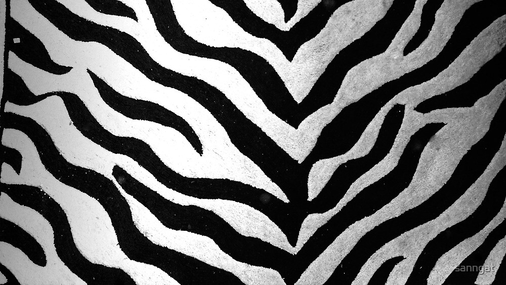 zebra pattern by sanngat