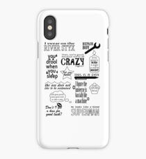 Heroes of Olympus Quotes iPhone Case