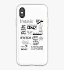 Vinilo o funda para iPhone Heroes of Olympus Quotes