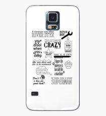 Funda/vinilo para Samsung Galaxy Heroes of Olympus Quotes