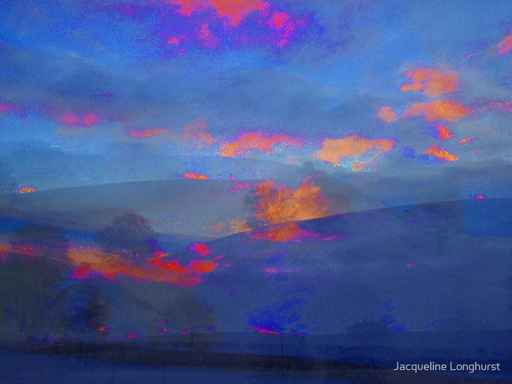 Blue Winter Sky by Jacqueline Longhurst