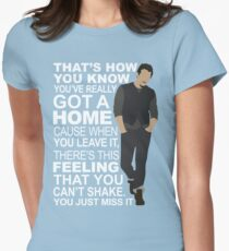 Nealfire - Feeling of Home Womens Fitted T-Shirt
