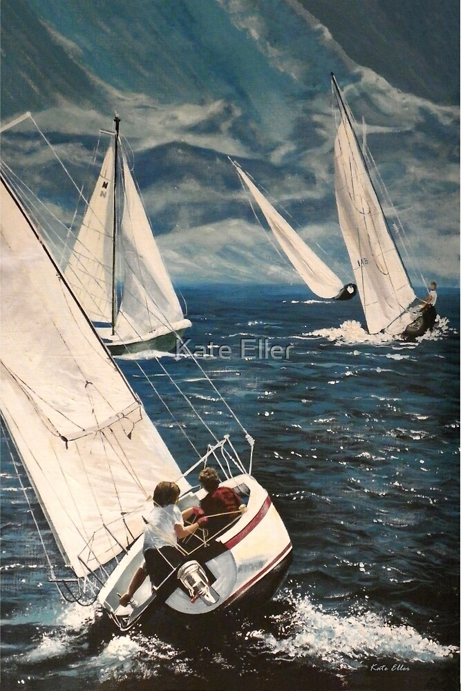 Catching the Afternoon Wind by Kate Eller