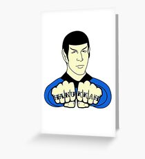Spock Hanukkah! Greeting Card