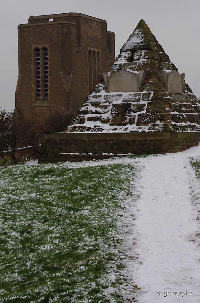 James Burton Pyramid and St.Leonards Church by seymourpics