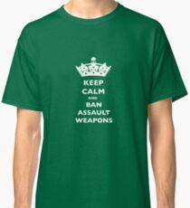 BAN ASSAULT WEAPONS T-SHIRTS Classic T-Shirt