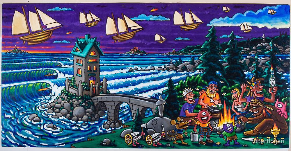 Pirate picnic by robertlogan