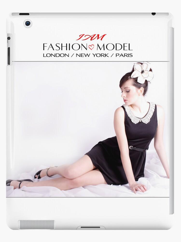 """ I AM "" Fashion Model Designer iPad Case by Love Through The Lens"