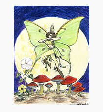 Luna Moth Photographic Print