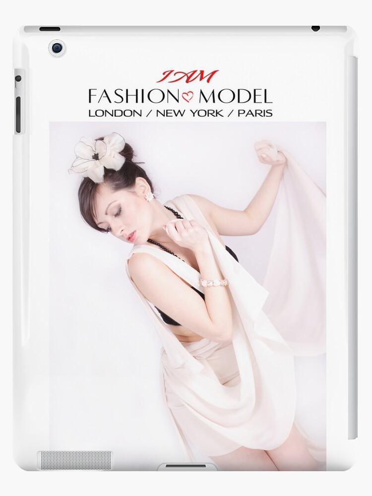 """ I AM "" Fashion Model ( Paris ) Designer iPad Case by Love Through The Lens"