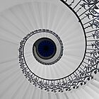 Tulip Staircase, Queens House, Greenwich, England by GrahamCSmith