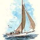 New England Sailing by Kate Eller