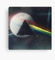 Painted Floyd Canvas Print