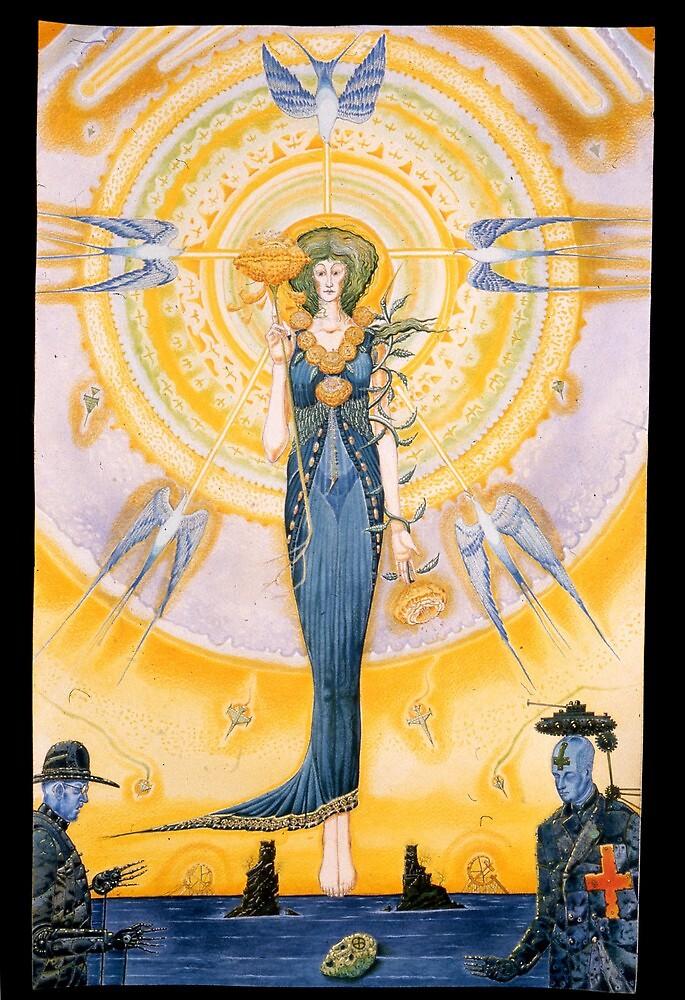 Blue Angel by Diegomrios
