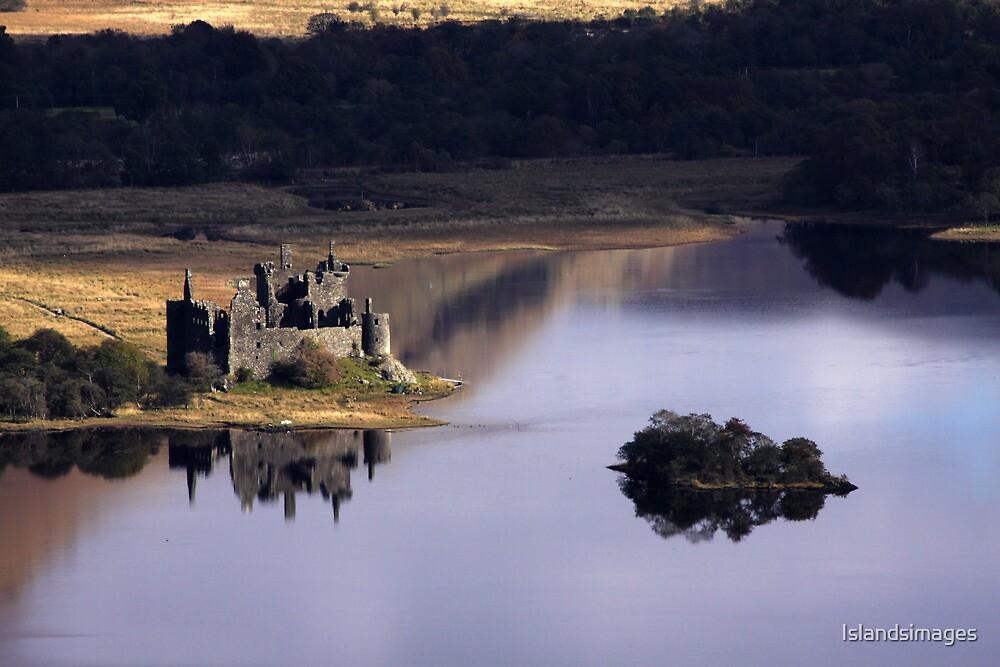 Kilchurn Castle, Loch Awe, Argyll by Islandsimages