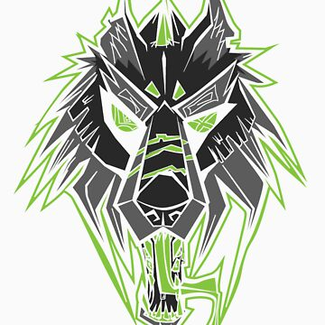 Acid Wolf Green by lostSHADE