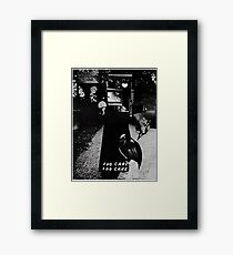 Death Cap Mushroom. Framed Print