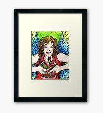 Rose Fairy Framed Print