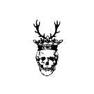A well dressed skull by Melanie  Dooley