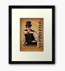 Steampunk Lady Framed Print