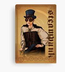 Steampunk Lady Canvas Print