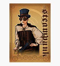 Steampunk Lady Photographic Print