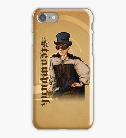 Steampunk Lady iPhone Case/Skin