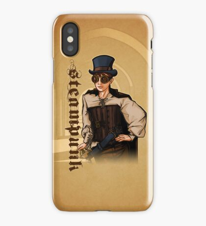 Steampunk Lady iPhone Case