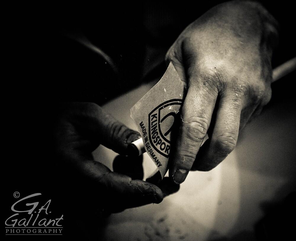 Working Hands by Gabriel Alan Gallant