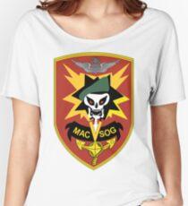 Military Assistance Command, Vietnam Crest Women's Relaxed Fit T-Shirt