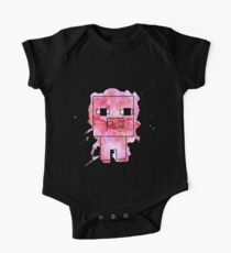 Splatter Pig - Minecraft inspired One Piece - Short Sleeve