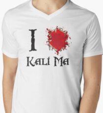 Indiana Jones I love Kali Ma Men's V-Neck T-Shirt