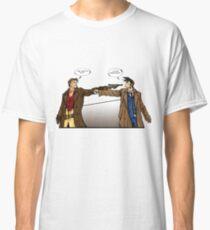 Captain Reynolds vs The Doctor Classic T-Shirt