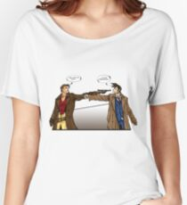 Captain Reynolds vs The Doctor Women's Relaxed Fit T-Shirt