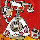 Telephone & Tea by RobynLee