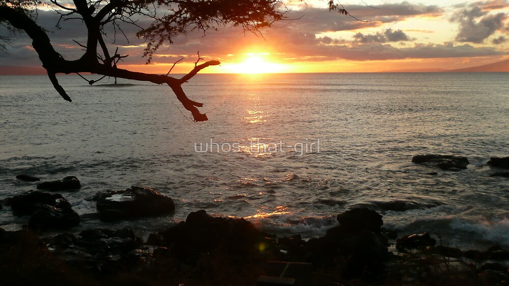 West Maui Sunset by whos-that-girl