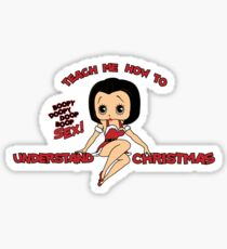 Annie: Teach Me How To Understand Christmas (Variant) Sticker