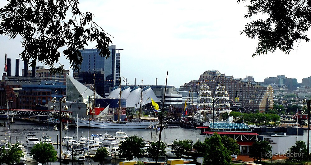 Baltimore's Inner Harbor_ Star Spangled Sailabration by Hope Ledebur
