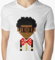 New 8-bit Gizmo Men's V-Neck T-Shirt