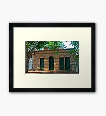OLD COLONIAL 1 Framed Print