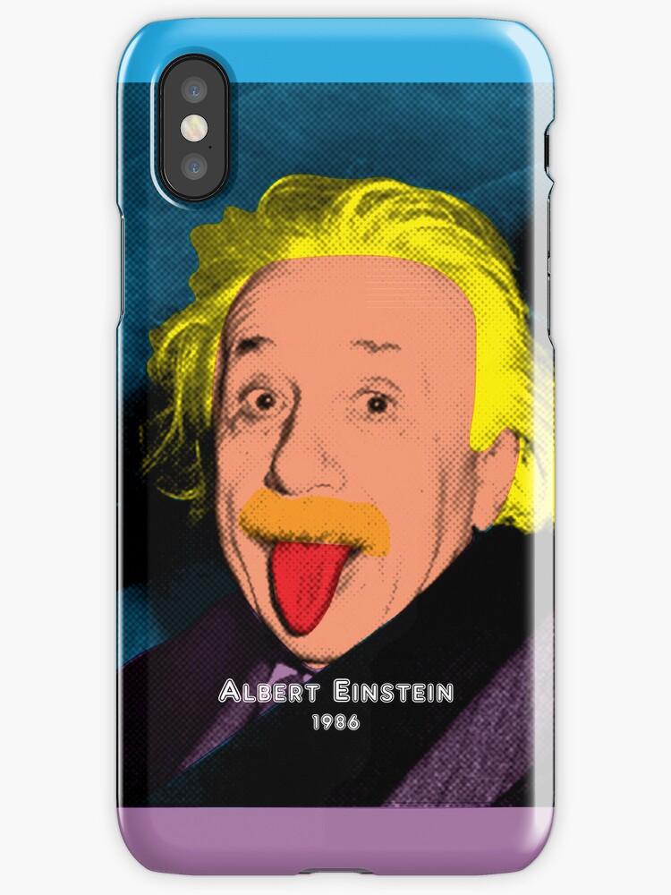 Albert Einstein with Pop Art Style by thejoyker1986