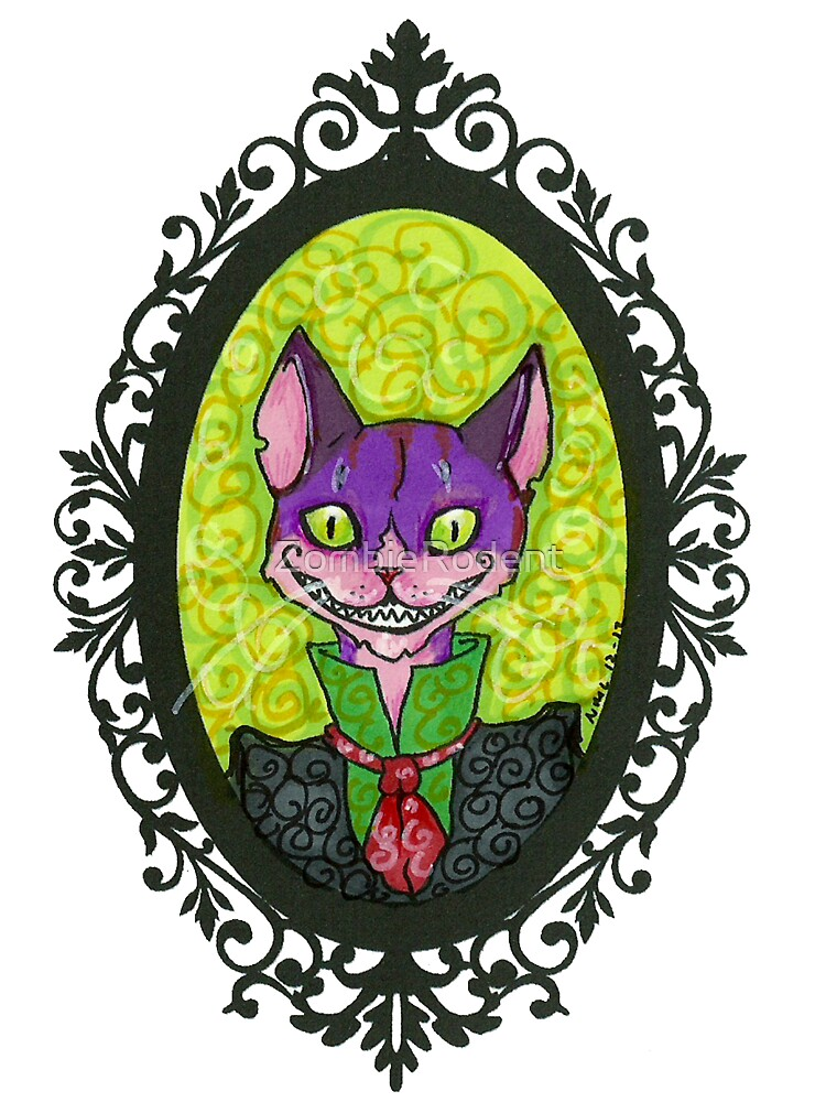 Dapper Cheshire by ZombieRodent