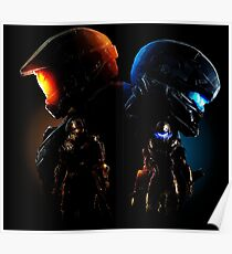 Halo Guardian Forces Poster