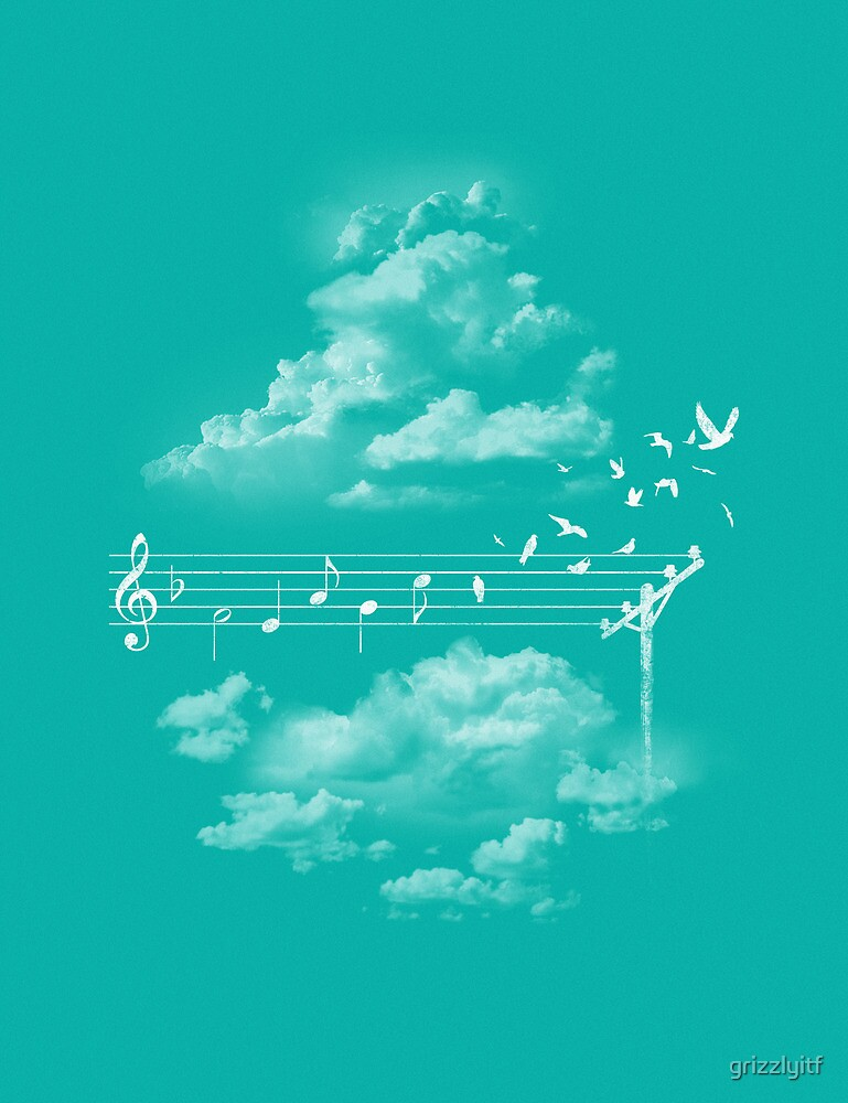 Music Gives Wings by grizzlyitf
